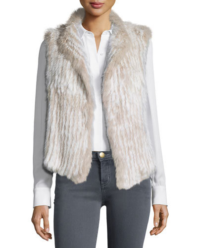 Mahoney Rabbit Fur Vest