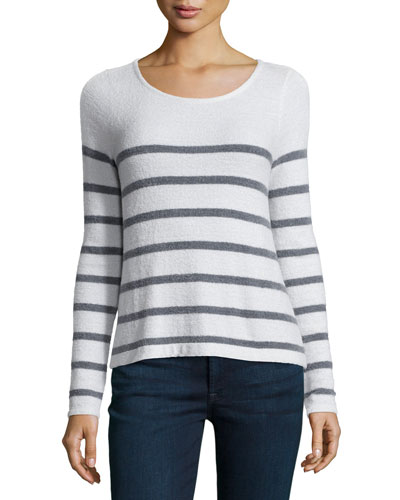 Elder Textured Striped Sweater