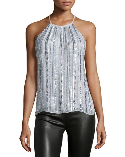 Current Sleeveless Top, Iridescent