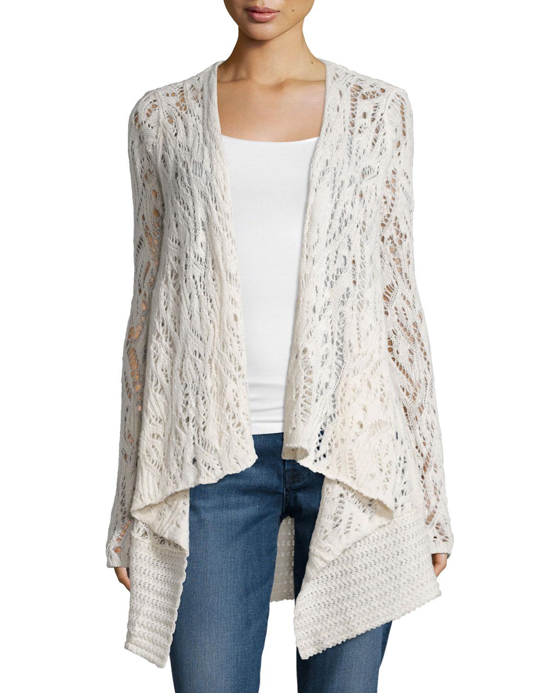 Calypso St Barth Locuan Drape-Front Cashmere Sweater e139cb16e7804