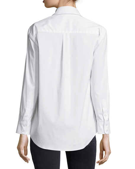 Barrett Long-Sleeve Blouse