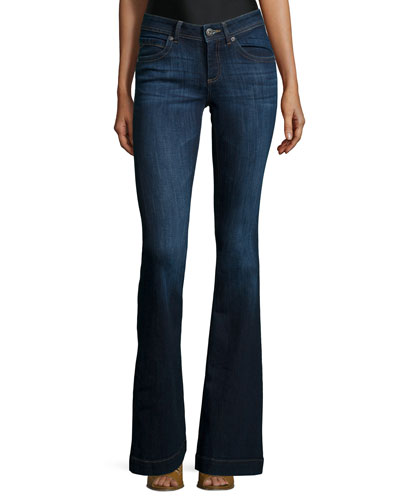 Joy Flare-Leg Jeans, Pulse