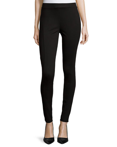 Ponte Legging W/ Seam Detail