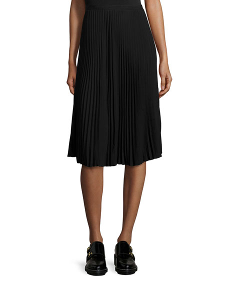 Rag & Bone Maxine Pleated Skirt, Black