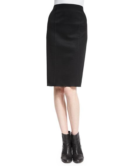 Rag & Bone Samantha High-Waist Skirt, Black