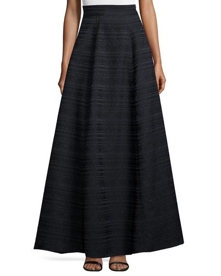Alice + Olivia Lex Striped Ball Skirt