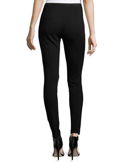 Pintucked Skinny Pants, Plus Size