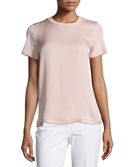 Theory Apdime Short-Sleeve Top