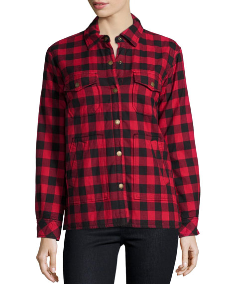 The Workman Shirt Jacket, Forester Plaid