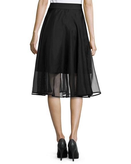 Silk Circle Skirt 15