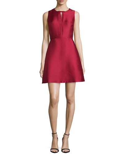 Eliza Fit & Flare Cocktail Dress