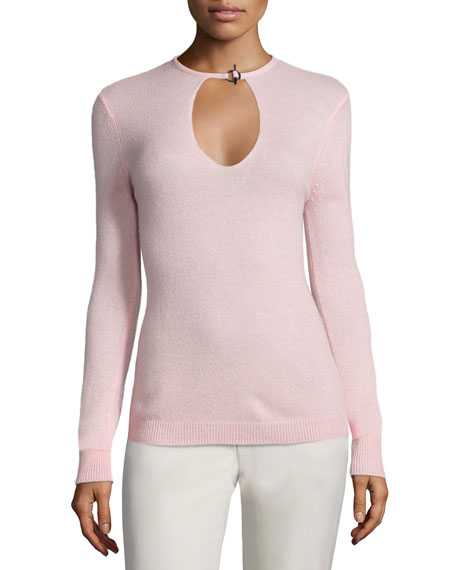 Halston Heritage Cashmere Long-Sleeve Sweater