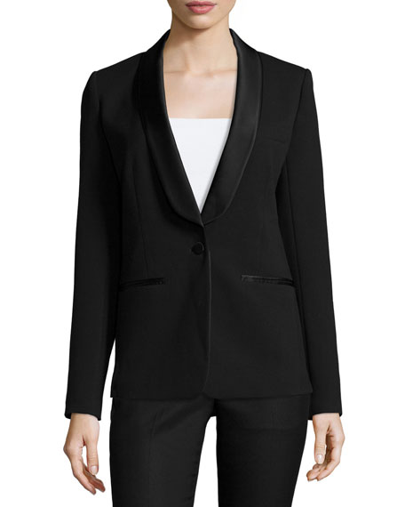 Blazers For Rent: MICHAEL Michael Kors Shawl-Collar Tuxedo Blazer