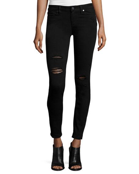 Paige Denim Verdugo Ultra Skinny Jeans, Black