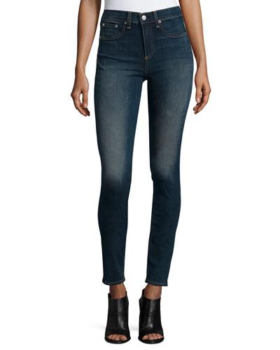 High-Waist Skinny Jeans, Ashton