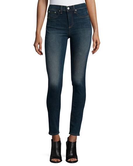 rag & bone/JEAN High-Waist Skinny Jeans, Ashton