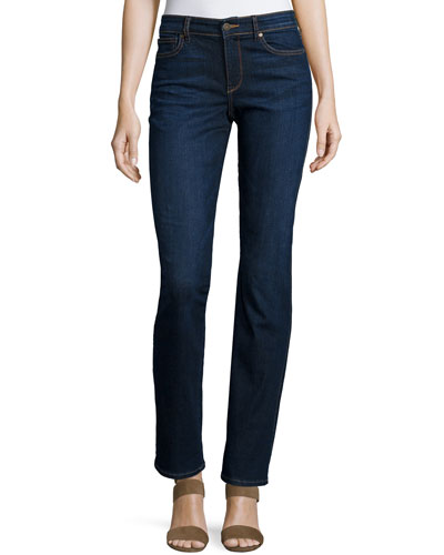Faith Straight-Leg Jeans, La Belle