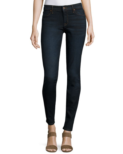 Joy Mid-Rise Leggings, Denim
