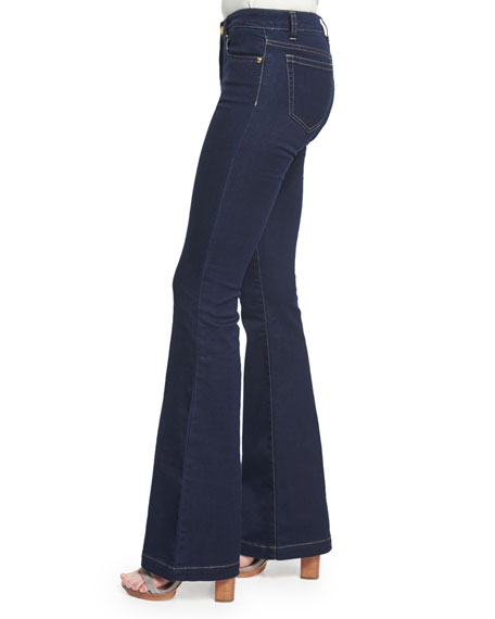 Retro Flared Jeans, Twilight Wash
