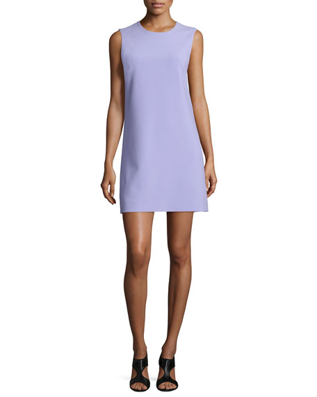 Diane von Furstenberg Sleeveless Carrie A-Line Dress, Lavender