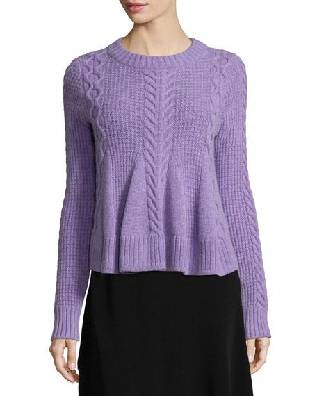 Elizabeth Amp James Swing Long Sleeve Pullover Sweater
