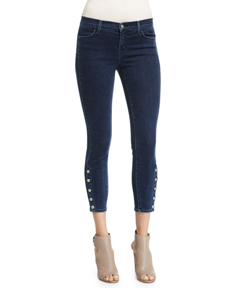 J Brand Jeans Suvi Skinny Cropped Jeans, Allegiance