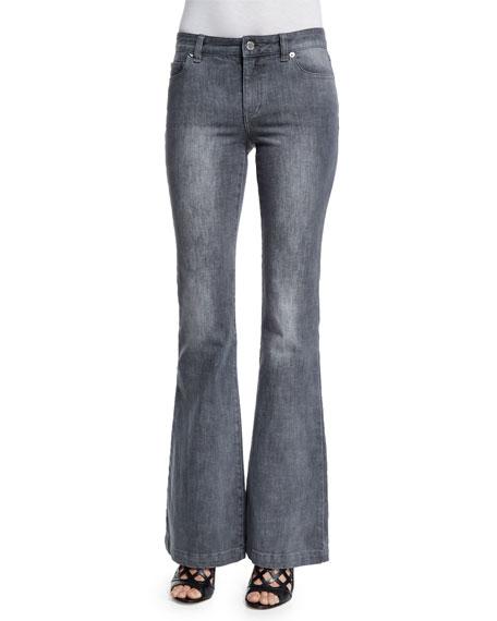 MICHAEL Michael Kors Retro Flared Jeans, Emmanuelle Wash