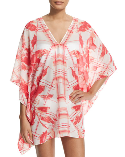 Sophia Printed Georgette Coverup
