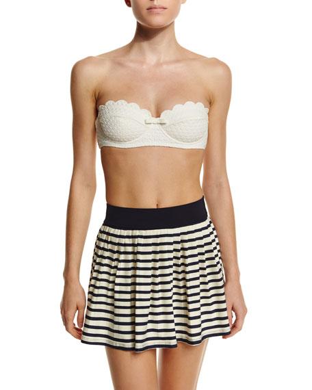 kate spade new york nahant shore striped skirt