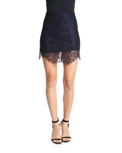 Lyla Lace Mini Skirt