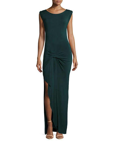 Young Fabulous and Broke Bryton Twist-Front Maxi Dress,
