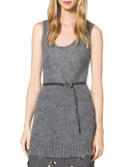 Michael Kors Collection Mohair Chunky Knit Tank