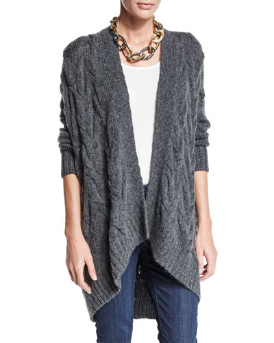 Fisher Project Cable-Knit Cardigan
