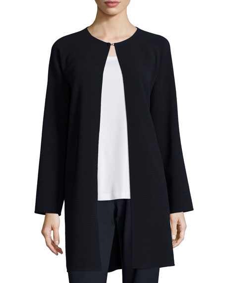 Lafayette 148 New York Divina Textured Long Coat