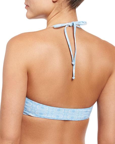 Bondi Reversible Printed Bikini Top