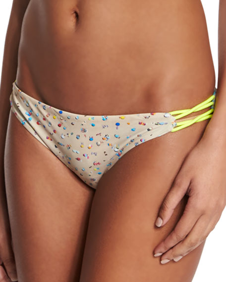 Basta Surf Zunzal Reversible Swim Bottom, Umbrella/Nirvana