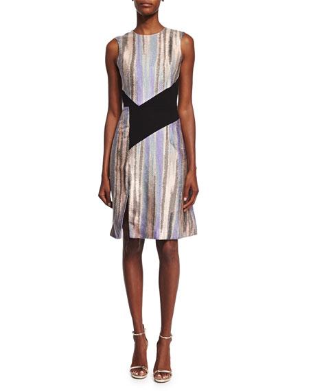 prabal gurung sleeveless combo aline dress
