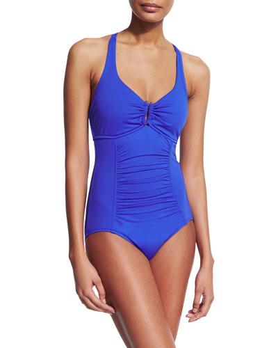 Goddess U Tube One-Piece Swimsuit