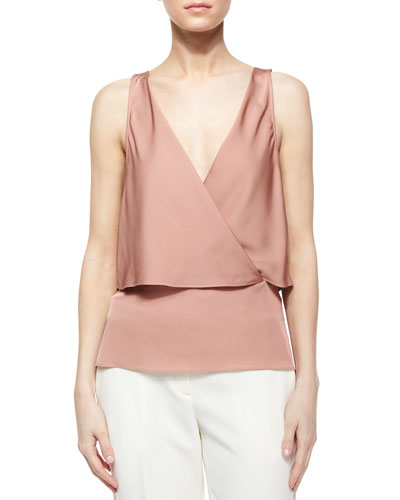 Alizay Modern Silk Top