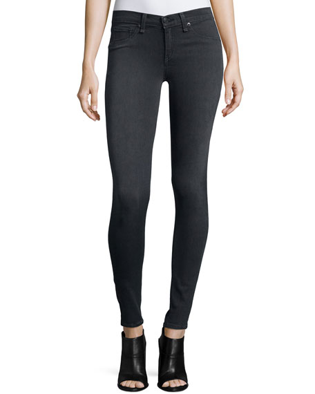 rag & bone/JEAN Premiere Legging Jeans, Gray