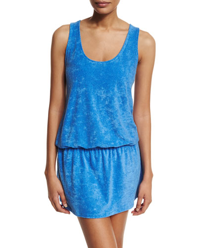 Sleeveless Cotton Coverup Dress