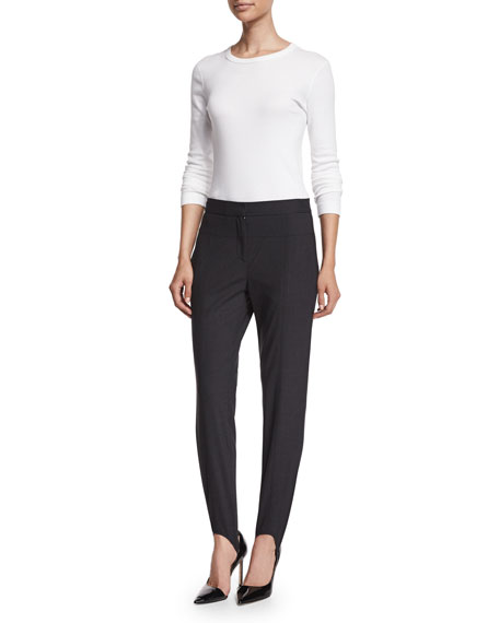 Halston Heritage Suiting Stirrup Pants