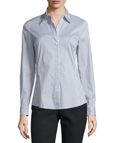 Merite Striped Blouse