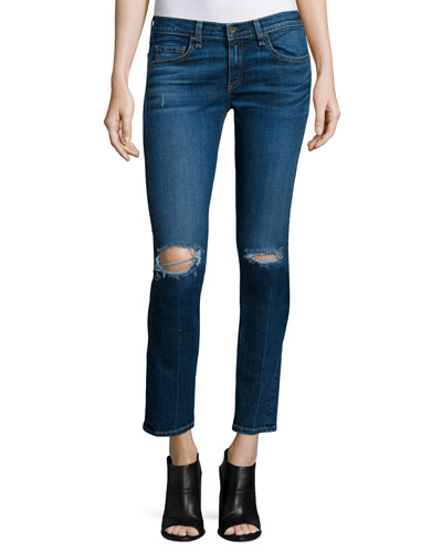 Tomboy Distressed Ankle Jeans, Burnley