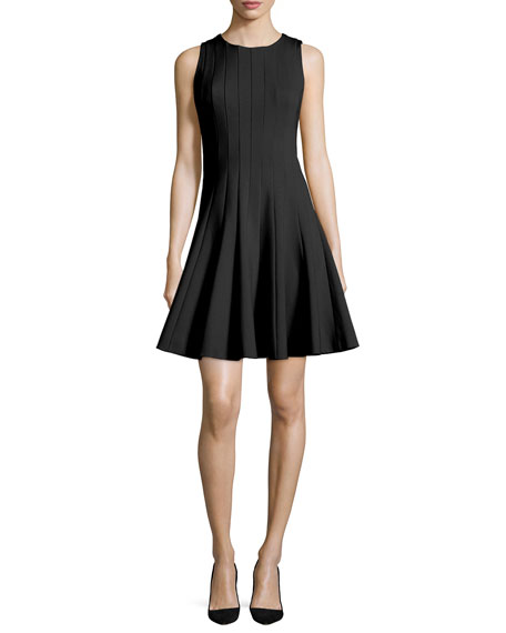 kate spade new york sleeveless fit-and-flare silhouette