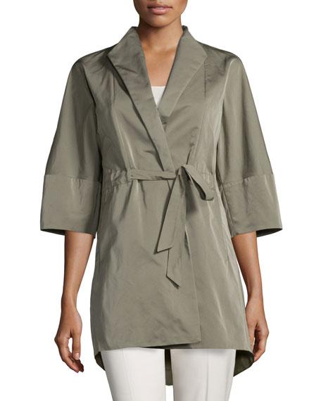 Lafayette 148 New YorkRita Half-Sleeve Self-Tie Topper Jacket