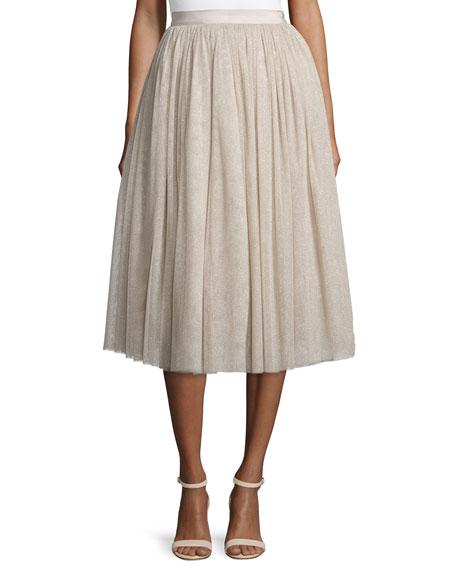 Everleigh Sparkle Full Skirt, Pink