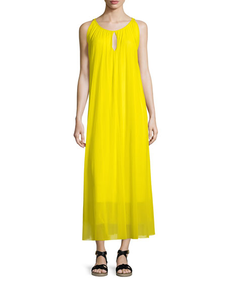 Sleeveless Flowing Maxi Dress