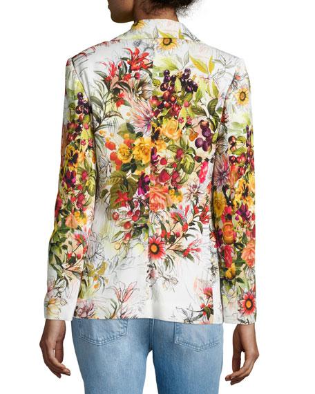 Dutch Floral-Print Blazer
