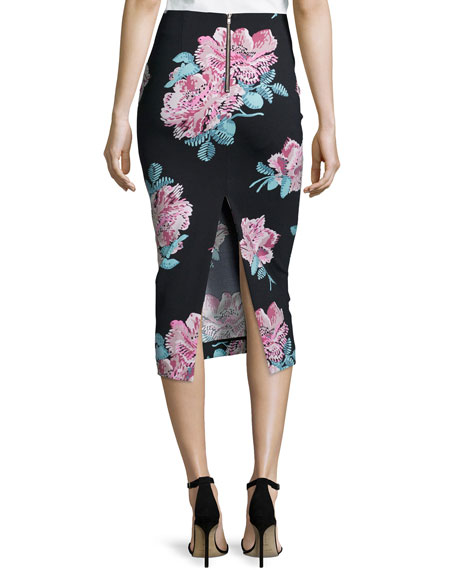 Elizabeth and James Floral Midi Skirt Free Shipping 2018 Newest Outlet Purchase Nicekicks For Sale lAUSzWXdKW